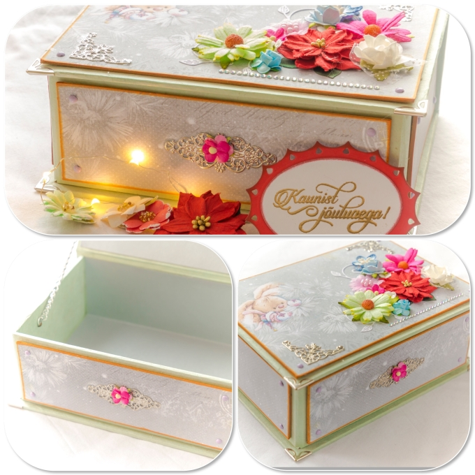 Decorated Card Stock Boxes