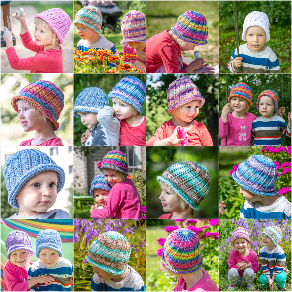 Hand-made cloche hats by Nele Verhovtsova
